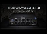 MESA/Boogie Subway® TT-800™ Bass Amp Official Demo
