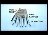 Kontakt Tutorial: How to Lay Out Piano Samples