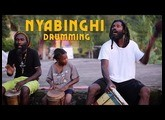 Nyabinghi Rasta Drum Session in the Blue Mountains, Jamaica