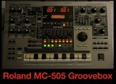 Roland MC-505 - Démos internes - Factory Demo Songs