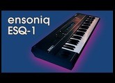 ENSONIQ ESQ-1 Synthesizer 1986 | CUSTOM PATCHES FOR ESQ-1 | SQ-80 | SQ8L | HD DEMO