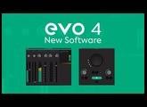NEW EVO 4 Software - EVO Control and Audio Loop-back Mixer