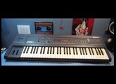 How to replace the battery on an Ensoniq ESQ-1 synthesizer