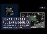 Pulsar Modular Lunar lander - Delay, Reverb and Saturation in one plugin
