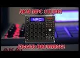 FINGER DRUMMING WITH THE AKAI MPC STUDIO | JFANTASMITA