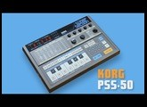 "KORG PSS-50 Vintage Groove Box ""SUPER SECTION"" 1984 