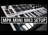 AKAI MPK MINI MK3 Complete Setup - Registration, Software Download, and Installation Walk Through