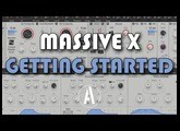 Massive X Getting Started - First Patches