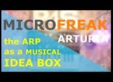 [TUTO] the FANTASTIC MicroFreak  #1 - Use the arpeggio as a powerful musical ideas box Fr + Uk subs