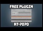 RT-7070 VST|VST3|AU | Free TR-707 | Electronik Sound Lab | Free VST Plugins Instruments | 2020