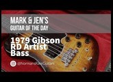 Norman's Rare Guitars - Guitar of the Day: 1979 Gibson RD Artist Bass