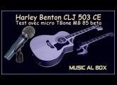 Enregistrement de la guitare HB CLJ 503 avec la Behringer UMC204HD