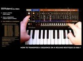 [Tuto] Roland JU-06A : How to transpose a sequence ?