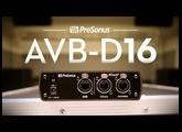 Two Networks. One Bridge. Introducing the PreSonus AVB-D16: 16x16 AVB-to-Dante and back