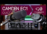 Camden EC1 | Preamp, Mojo Analogue Saturation Processor, & Headphone Amp | Product Overview