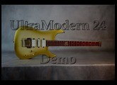b3 Guitars UltraModern 24 Demo | Fishman Fluence Pickups