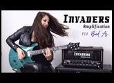 Testing my new custom guitar amp (Invaders Amps 950 Bad'As)