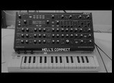 """Sneak Peak"" for Novation Peak: heavy lo-fi landscape"