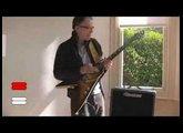 Jon Case demonstrates the JV archtop guitar