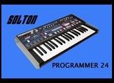 SOLTON PROGRAMMER 24 Analog Groovebox 1985 | HD DEMO | SAMPLE PACK