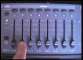 DMX lighting controller programming part 1