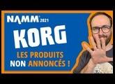 NAMM 2021 : Korg n'avait en fait pas fini son NAMM !