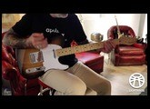 GLORIOUS FLAME- micro Telecaster vintage | Lighthouse Pickups