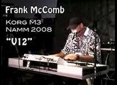Frank McComb plays the Korg M3 at NAMM 2008 #1
