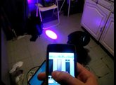 DMX control avec un iPhone