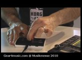 Musikmesse 2010: Korg talk Gear4music through the new Monotron Analog Synth