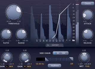 Software noise gates / expanders