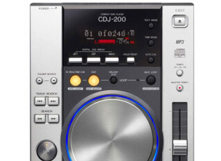 Tabletop DJ players