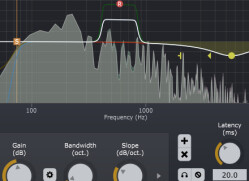 Software parametric EQs