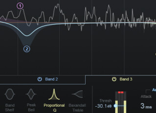 Software dynamic EQs