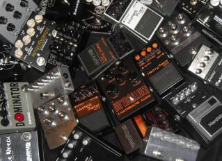 Effets à saturation pour guitare