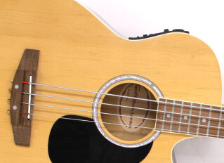 4-string acoustic bass guitars