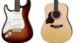 Guitares pour gauchers