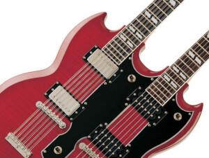 Guitares électriques à doubles manches