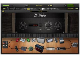 Simulateurs d'ampli/baffle logiciels pour guitare/basse
