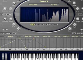 Virtual additive synths