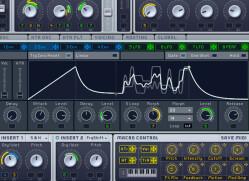 Virtual hybrid synths