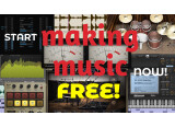Over 150 free software tools to make music