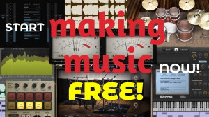 THE TOP 150 FREEWARE TO MAKE MUSIC