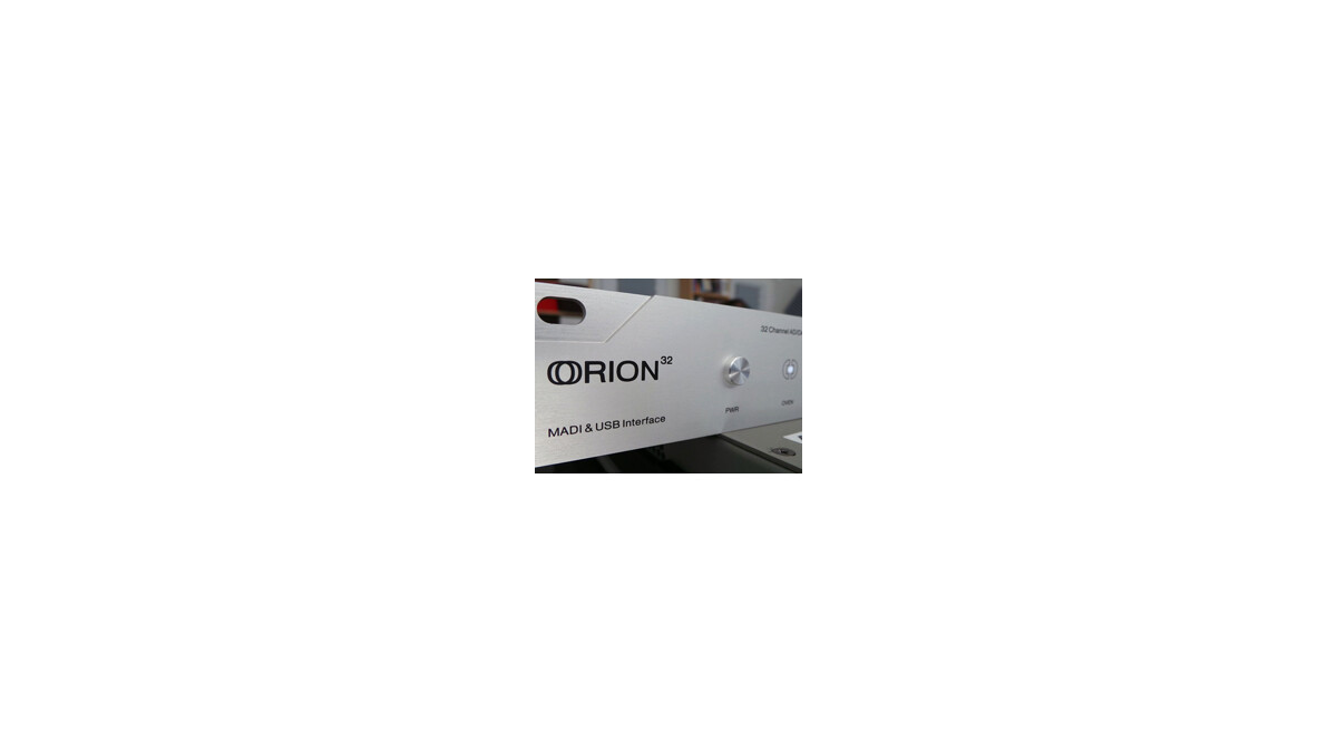 Antelope Audio Orion 32 Review : The Antelope Turns Into A ...