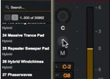 In tandem with Advance series controllers, VIP lets you access all your VST instruments in a single interface