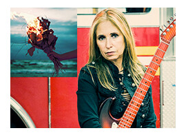 We interview the jazz/prog guitarist about the production of her new album