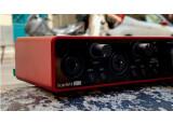 Test de l'interface audio Focusrite Scarlett 2i2 G3