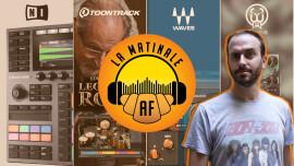 Native Instruments Maschine+, Toontrack Eddie Kramer's Legacy of Rock SDX, Waves Kaleidoscopes, Walrus Audio Julianna