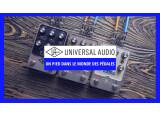 Universal Audio se lance dans la pédale !