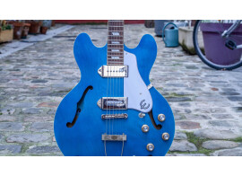 Test de l'Epiphone Casino Worn Blue Denim